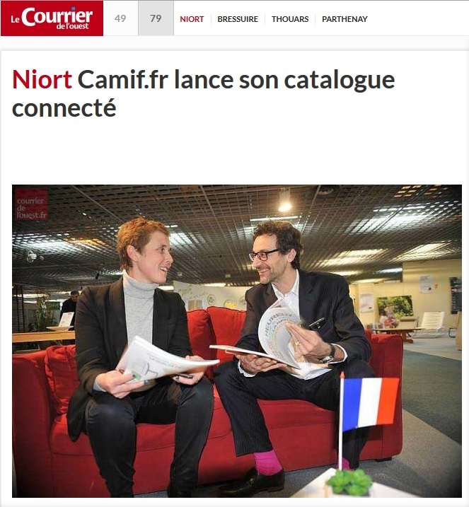 camif-catalogue-connecte